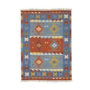 Dywan ręcznie wyszywany Bakero Kilim Classic Mix, 125x185 cm