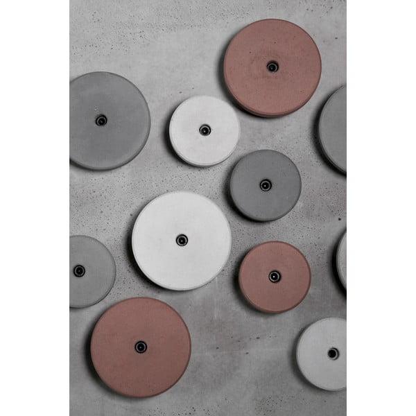 Betonowy wieszak AUGA, 6,5 cm