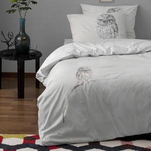 Pościel Case Hiboux Grey, 140x200 cm