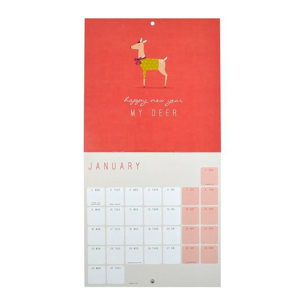 Mini Kalendarz Portico Designs Call Me Frank