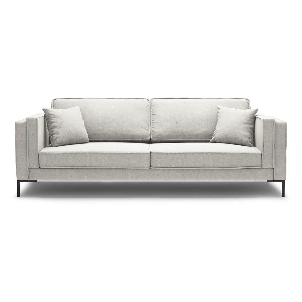 Beżowa sofa Milo Casa Attilio, 230 cm