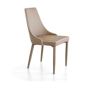 Krzesło Plana, capuuccino