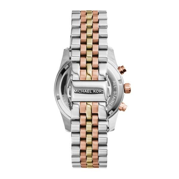 Zegarek damski w kolorze srebra z elementami w kolorze różowego złota Michael Kors Lexington