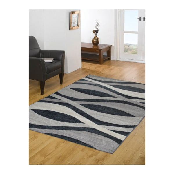 Dywan Flair Rugs Oel Grey, 133x190 cm