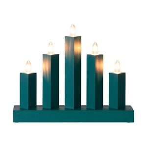 Niebieski świecznik LED Best Season Rak