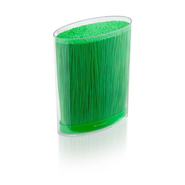 Zielony stojak na noże Brandani