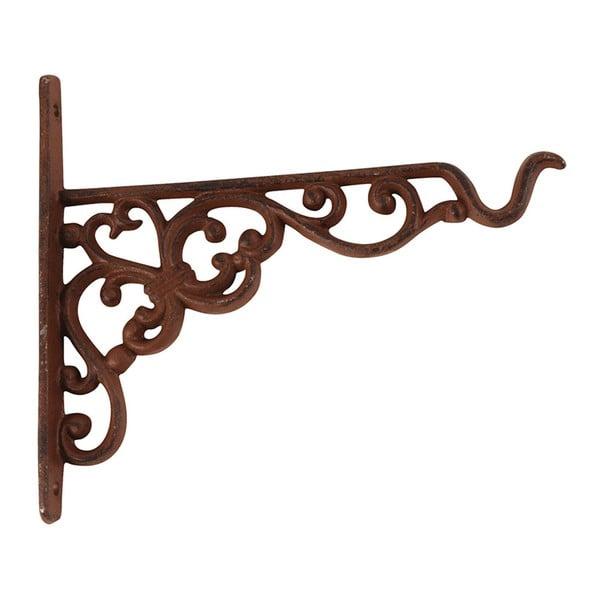 Wspornik żeliwny z uchwytem na doniczkę Ego Dekor, wys. 17,8cm