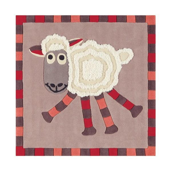 Ręcznie tkany dywan Joy, 130x130 cm