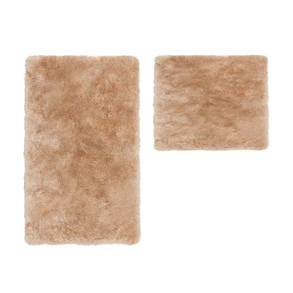Zestaw 2 dywaników łazienkowych Spotlight Beig