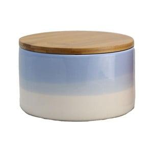 Pojemnik ceramiczny Majken Medium Blue/White