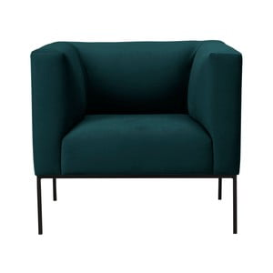 Butelkowy aksamitny fotel Windsor & Co Sofas Neptune