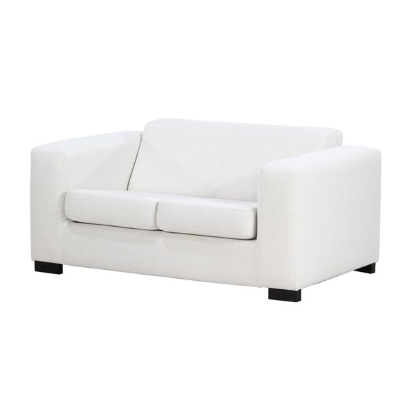 Biała   sofa dwuosobowa Wintech Dax Kongo