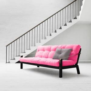 Sofa rozkładana Karup Poetry Black/Magenta/Amarillo