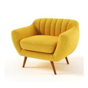 Żółty   fotel Wintech Azzurre