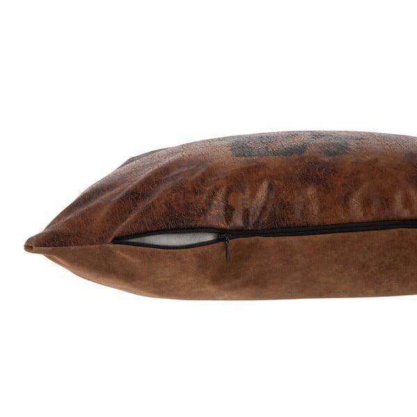 Poduszka J-Line Leath, 36x36 cm