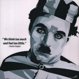 """Obraz """"Charlie Chaplin"""""""
