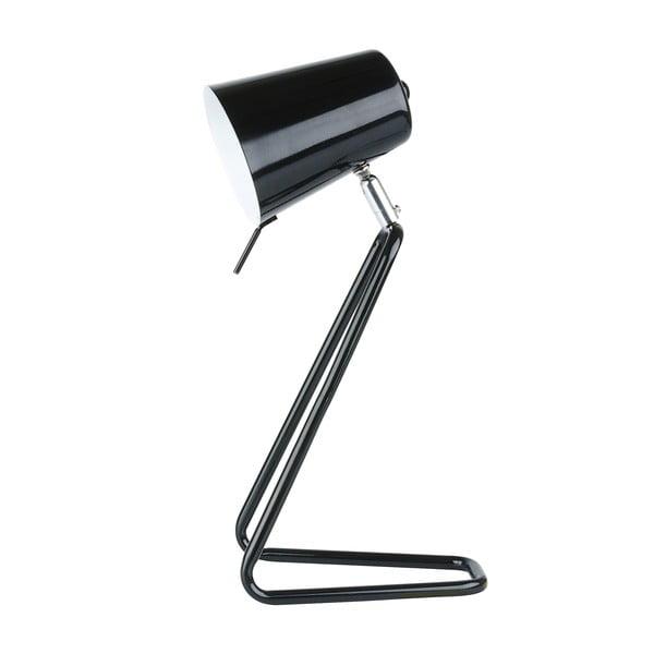 Czarna lampa stołowa Present Time Z Metal