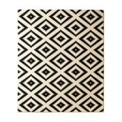 Dywan Hanse Home Hamla Diamond Black, 80x150 cm