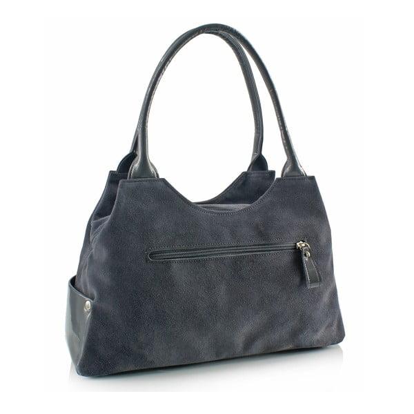 Skórzana torebka Boscollo Grey 3261