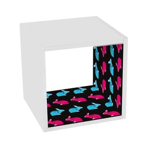 Stolik z półką Geometric Rabbit