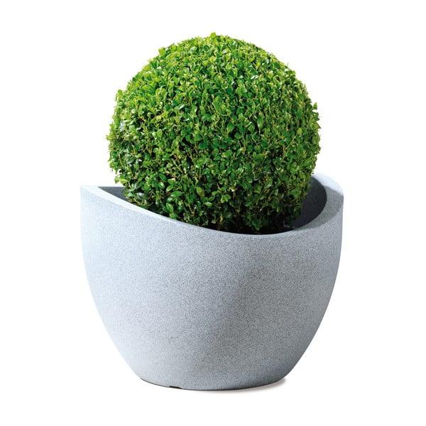 Donica ogrodowa Globe 40 cm, jasna