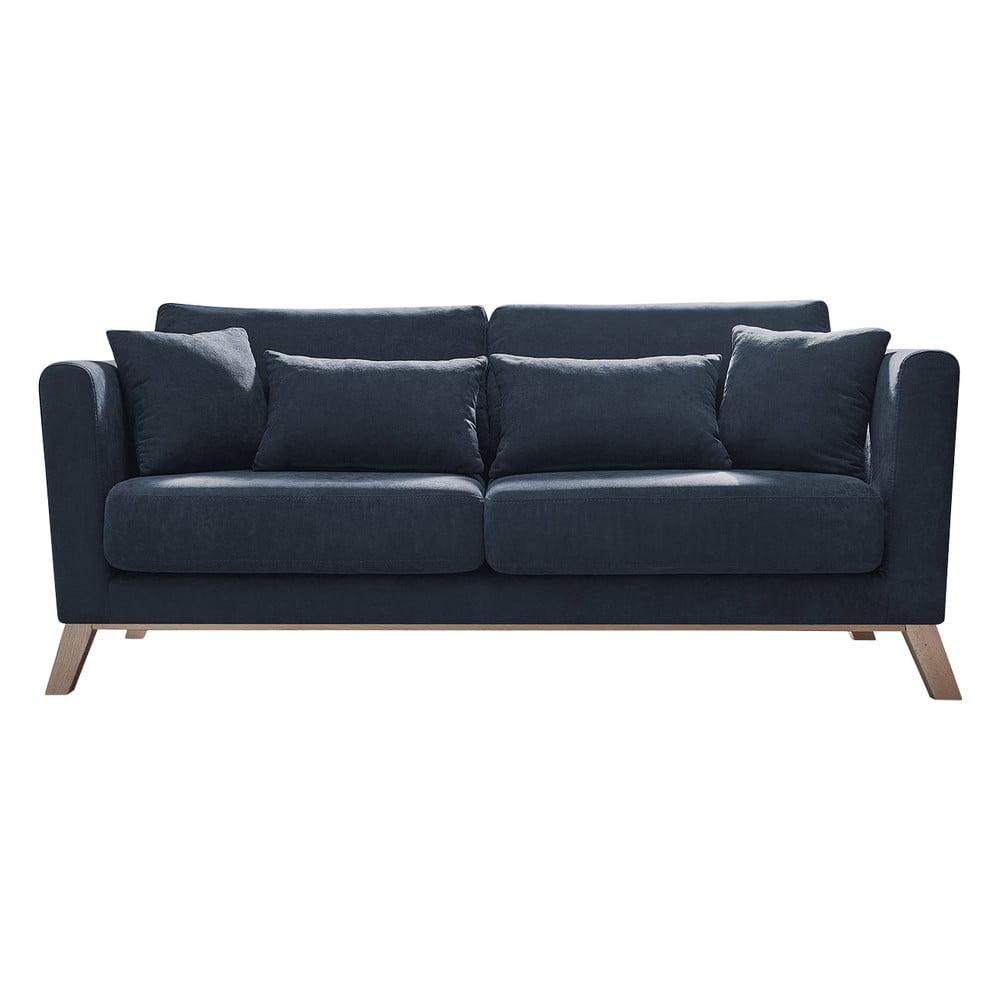 Ciemnoniebieska sofa Bobochic Paris Doblo