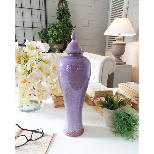Pojemnik Ceramic Light Purple Antique