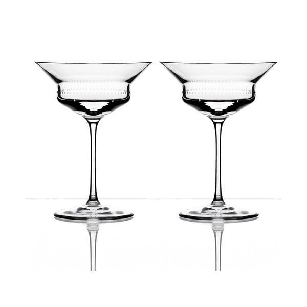 Zestaw 2 kieliszków do szampana Dots - Olgoj Chorchoj, 190 ml