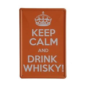 Tablica Drink Whisky, 20x30 cm