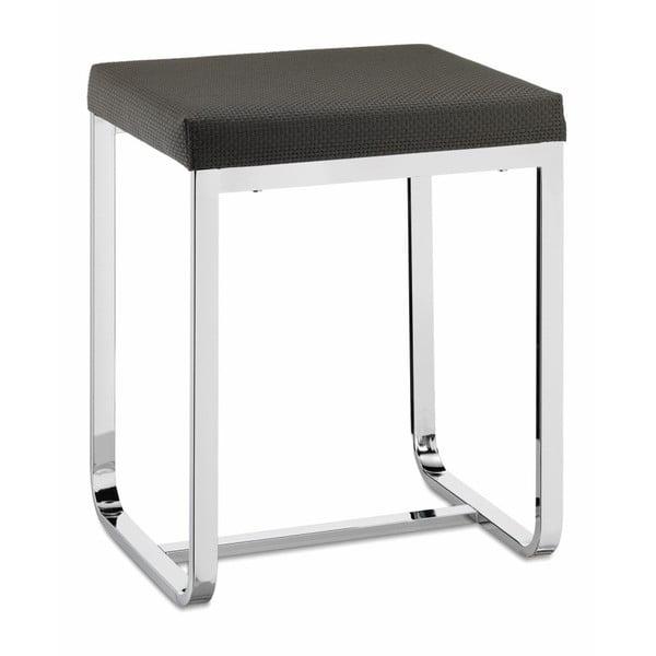 Szary stołek Kela Lorin