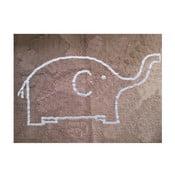 Dywan Elefante 160x120 cm, szarobrązowy