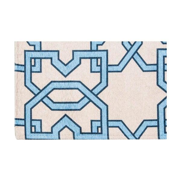 Wytrzymały dywan kuchenny Webtapetti Tiles Blue, 130x190 cm