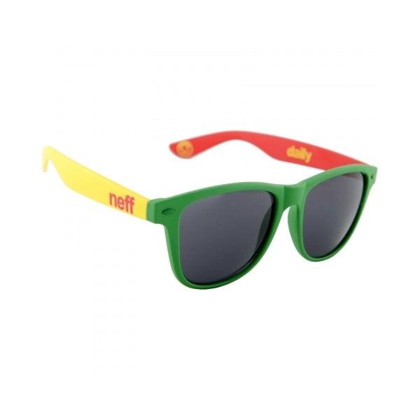 Okulary przeciwsłoneczne Neff Daily Rasta Soft