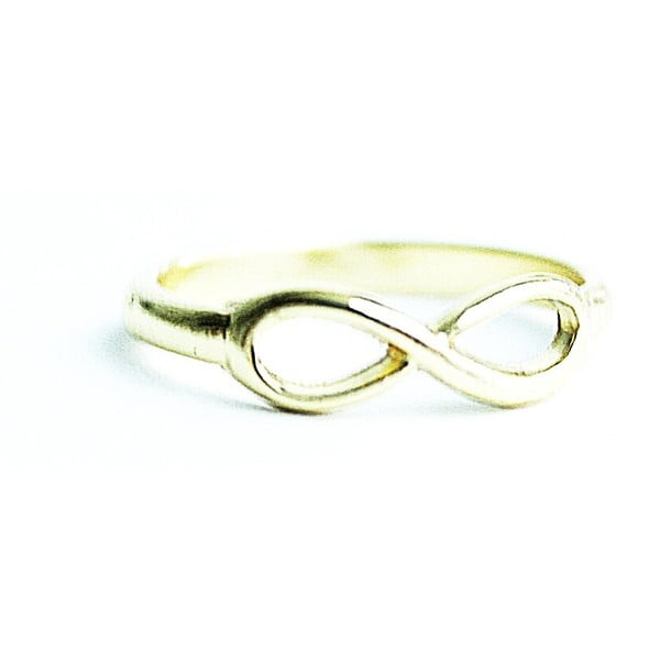 Pierścionek Golden Infinity