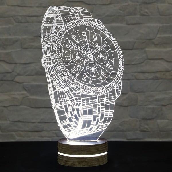 Lampa 3D stołowa Watch