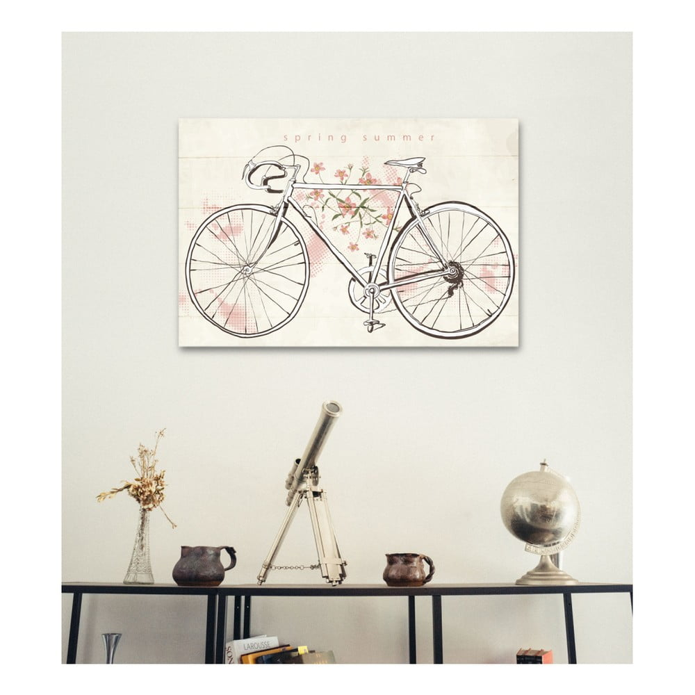 Tabliczka drewniana really nice things bicycle 60x40 cm - Really nice things ...