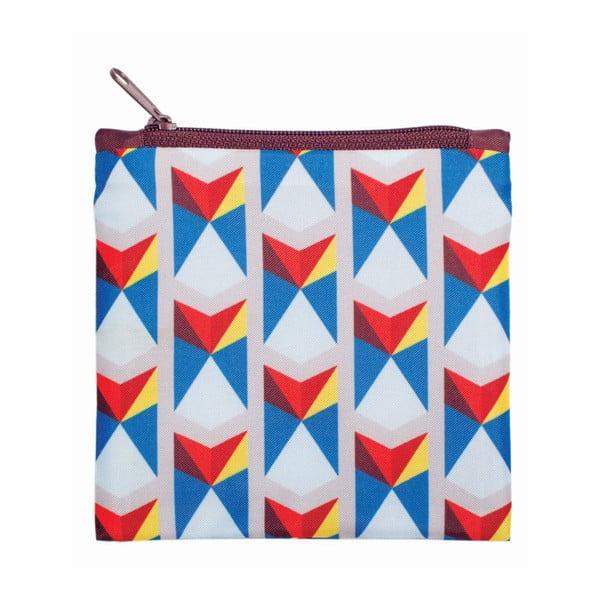 Składana torba na zakupy LOQI Triangles