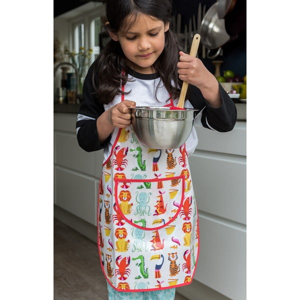 Dziecięcy fartuch kuchenny Rex London Colourful Creatures