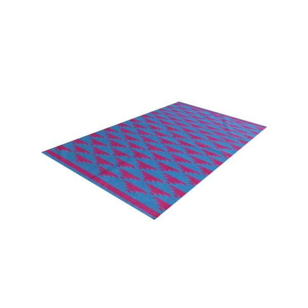 Ręcznie tkany dywan Kilim No. 40 Blue/Red, 120x180 cm