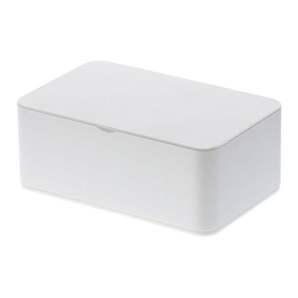 Biały pojemnik na chusteczki nawilżane YAMAZAKI Smart