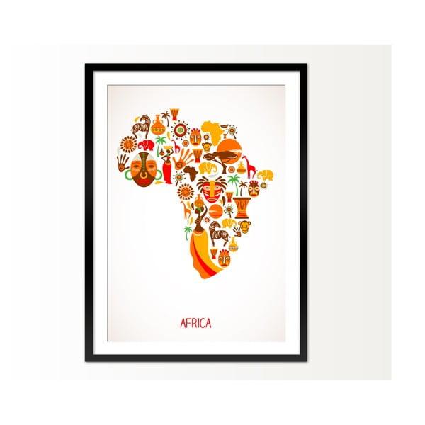 Oprawiony obraz Africa, 50x70 cm