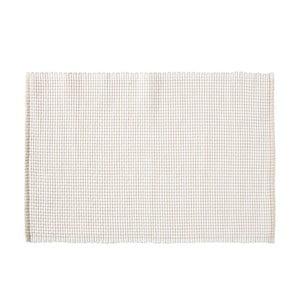 Biała mata stołowa Södahl Grain, 33x48 cm
