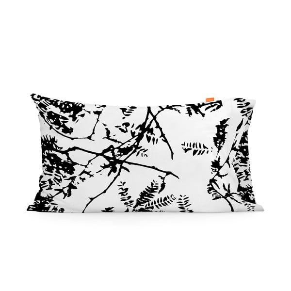 Poszewka na poduszkę Blanc Wood, 50x80 cm