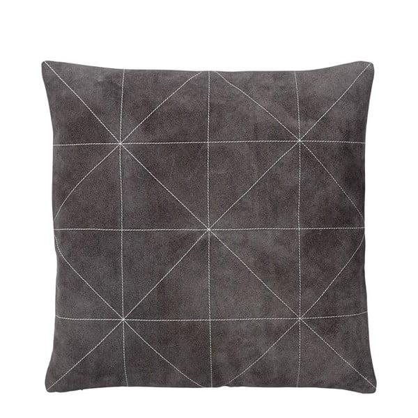 Poduszka z wypełnieniem Triangle Grey, 45x45 cm