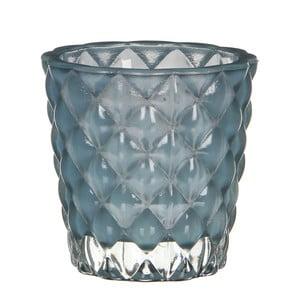 Świecznik Bent Turquoise, 8 cm