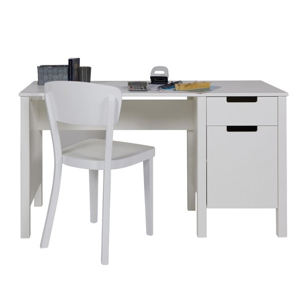 Białe biurko Jade