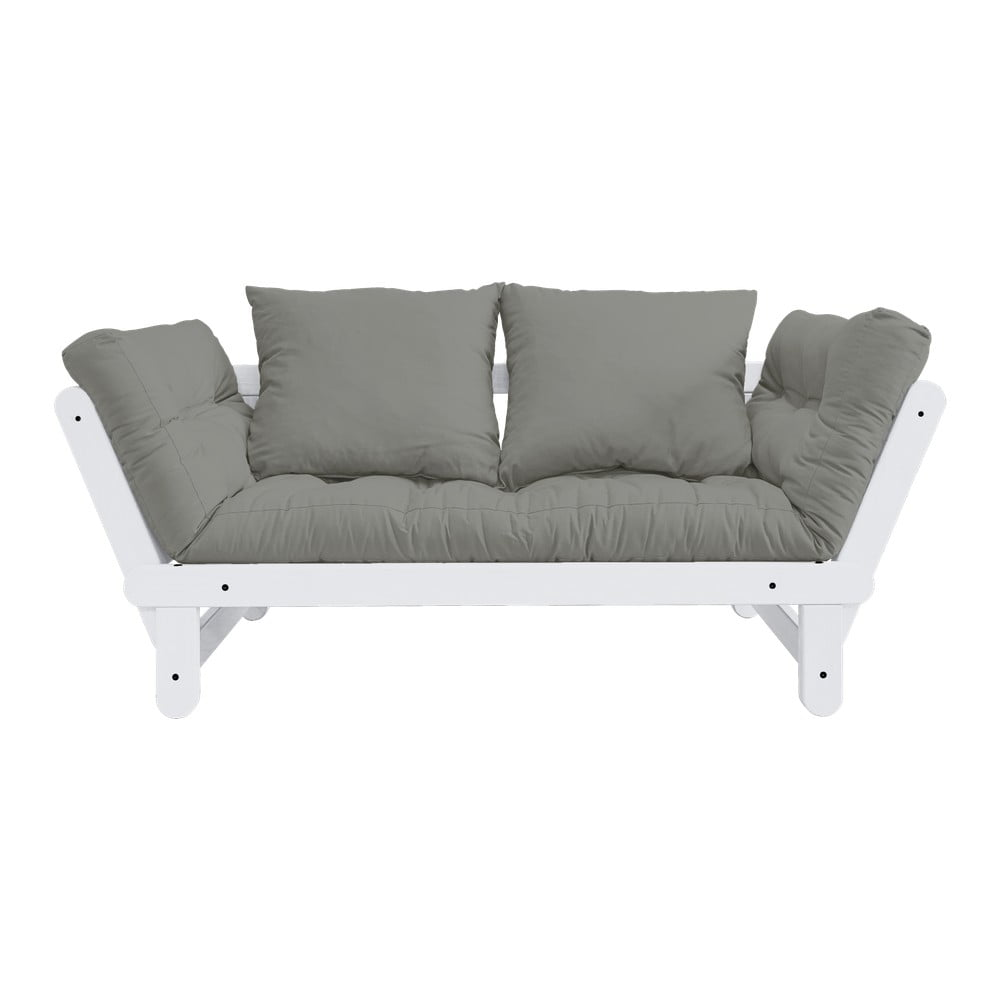 Sofa rozkładana Karup Design Beat White/Grey