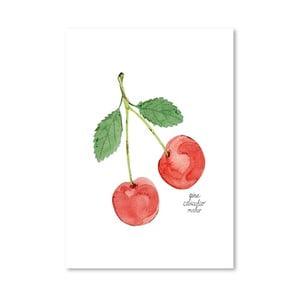 Autorski plakat Cherries, 30x42 m