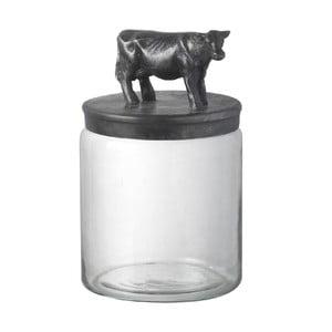 Szklany pojemnik Cow
