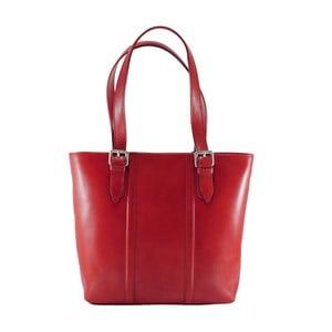 Czerwona torebka skórzana Fiona